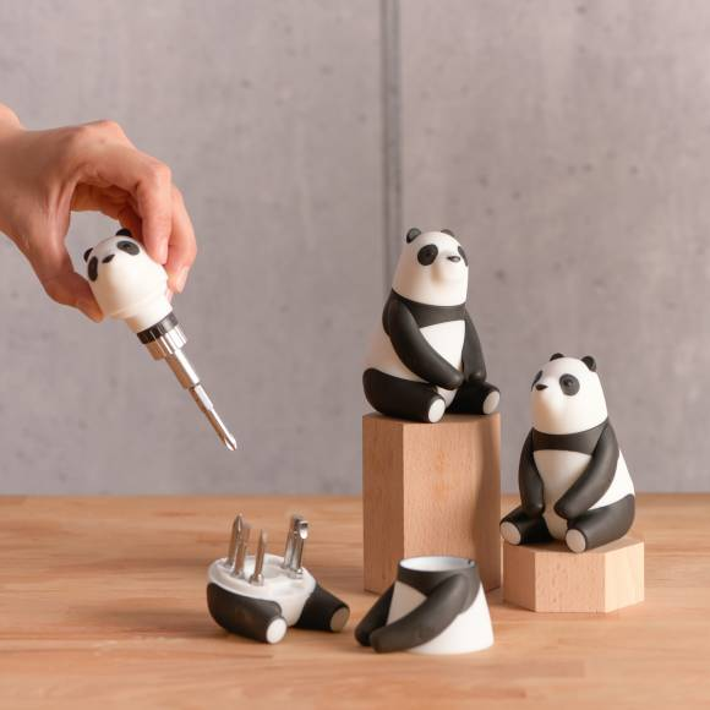 Panda mama - Tournevis à cliquet