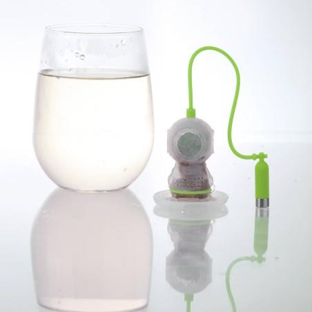 Tea diver - boule à thé scaphandrier