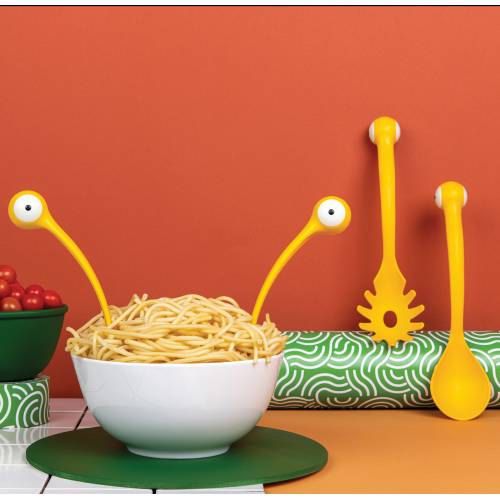 Pasta Monsters - Cuillères à spaghettis