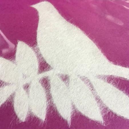 Mino on glass Oiseaux S - décoration de vitre en papier japonais