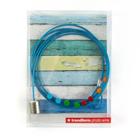 Steely Dan Bleu - câble porte photos