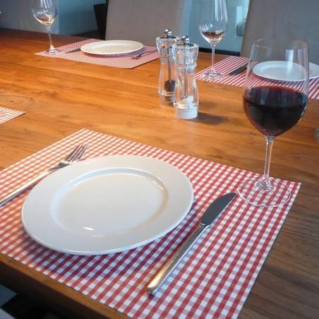 """Set de table """"Vichy Rouge"""""""