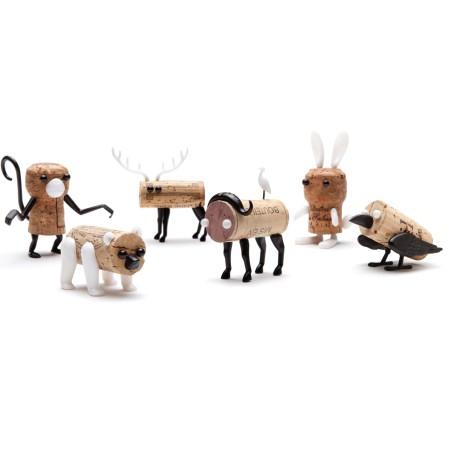 Corkers Animaux - épingles déco de bouchons