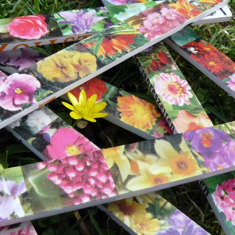 Mètre des fleurs 4 saisons
