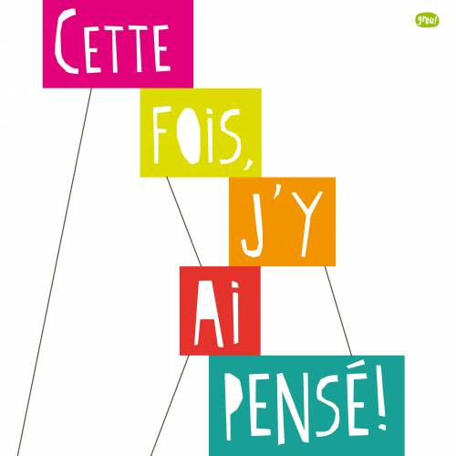 Carte GROU N°1 - happy joyeux