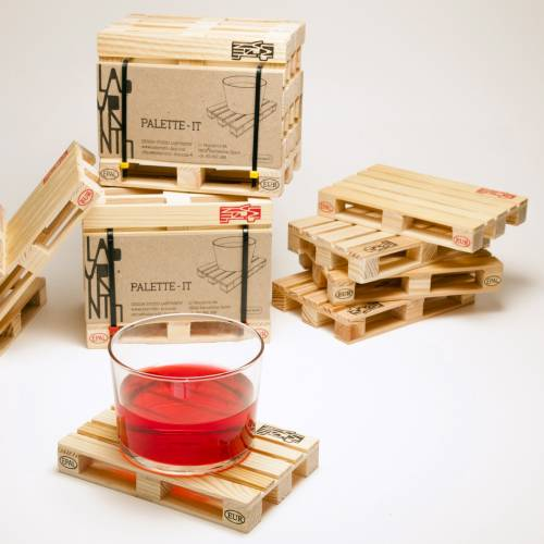 Palette - it Set de 5 sous-verre