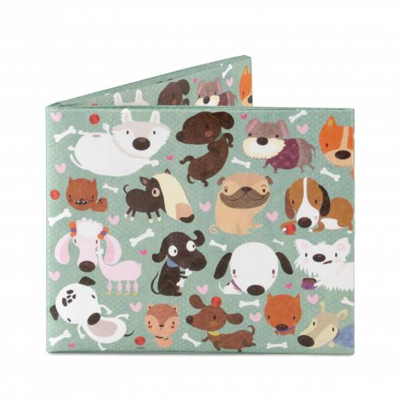 Mighty Wallet Happy Dogs