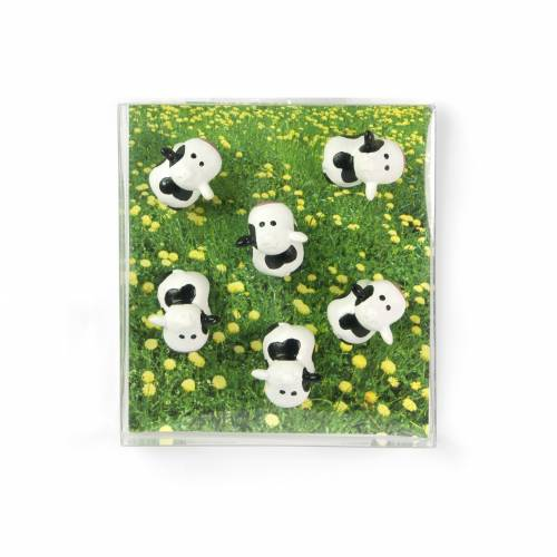 Aimants - 6 Vaches