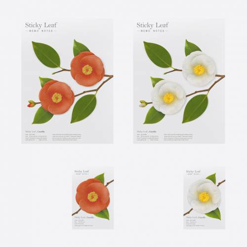 Sticky leaf Camelia - Notes collantes