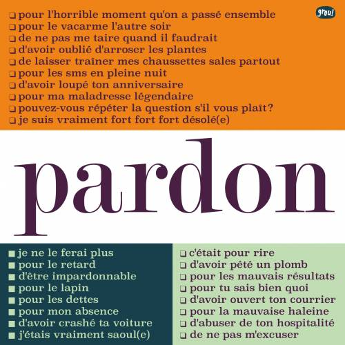 Carte GROU N°42 - Pardon