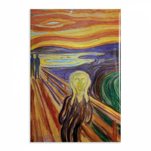 Aimant Gallery d'Art The Scream N°23