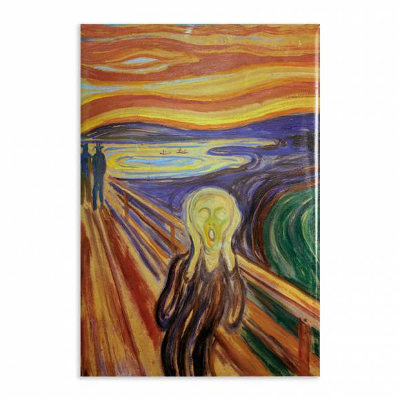 Aimant Gallery d'Art The Scream