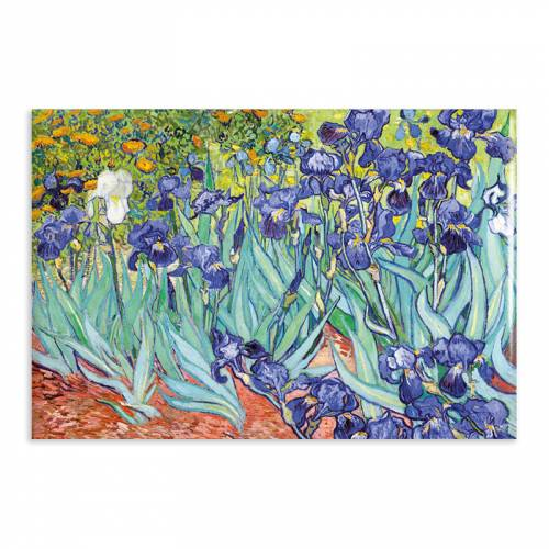 Aimant Gallery d'Art Irises N°10