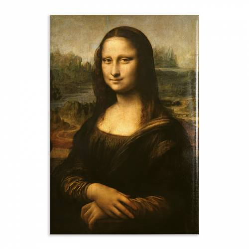 Aimant Gallery d'Art Mona Lisa N°16