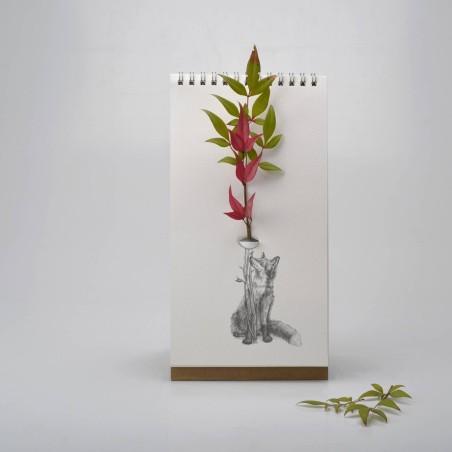Flip vase - Vase bloc-notes