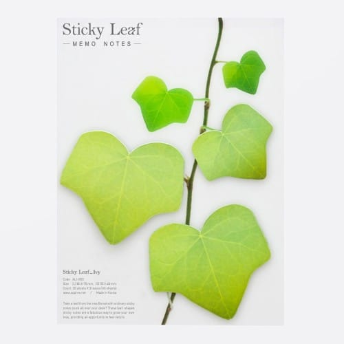 Sticky leaf Lierre - Notes collantes